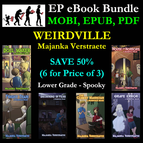 Book Bundle – Weirdville – 6 eBooks