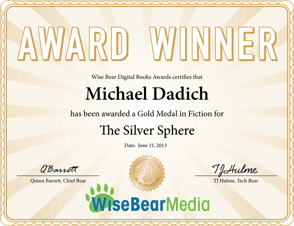 Wise Bear Digital Book Awards