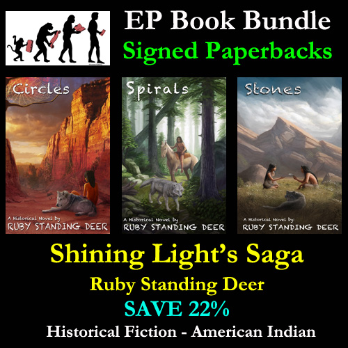 Book Bundle – Shining Light's Saga – 3 Signed Paperbacks